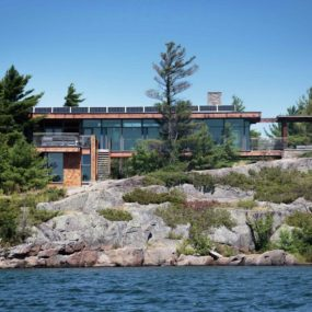 Remote Off The Grid Waterside Home with Gourmet Kitchen
