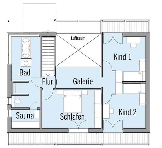 Self-sustaining home floor plans.