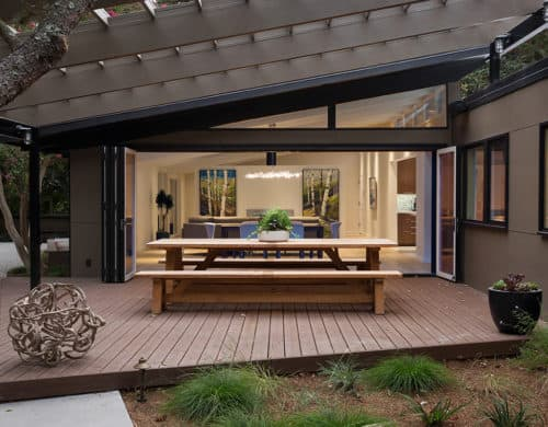 Mid Century House Remodel Project by Klopf Architecture in Bay Area, CA