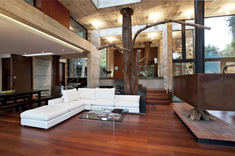 view in gallery - Inside A Modern House