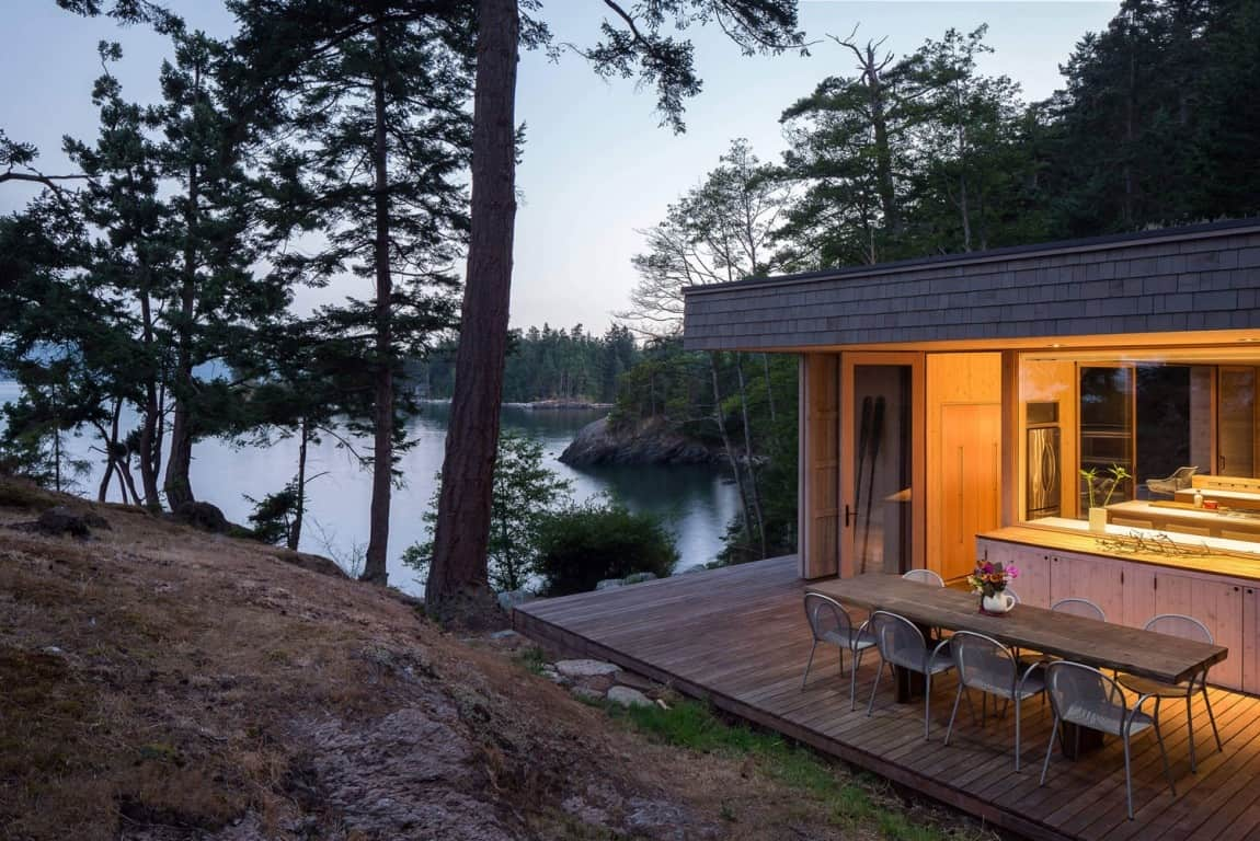 Retractable Panels Protect Island Home From Coastal Winds