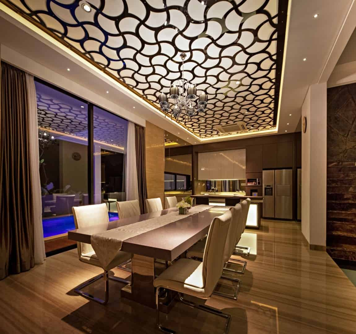 Ultra Cool Fun Creative Interior Design: House With Creative Ceilings And Glass Floors