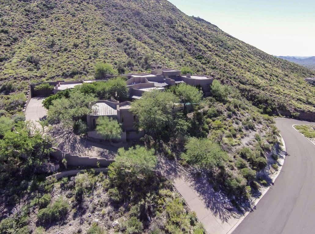 arizona desert home combines waterscaping xeriscaping and desertscaping