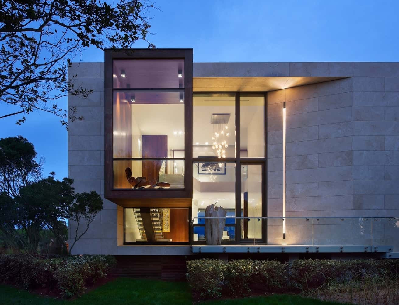 Creative oceanfront home designed to accommodate flood for Residential architectural plans for sale