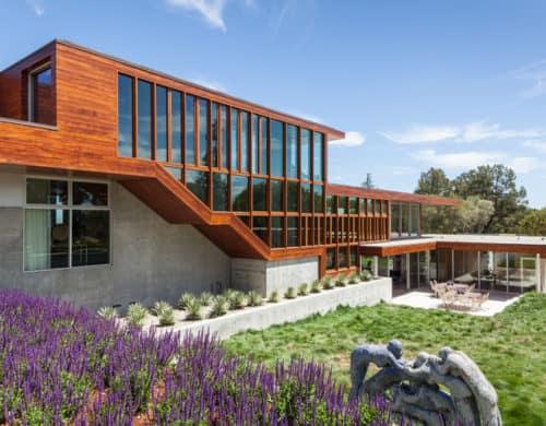 California Home Designed as Architectural Art