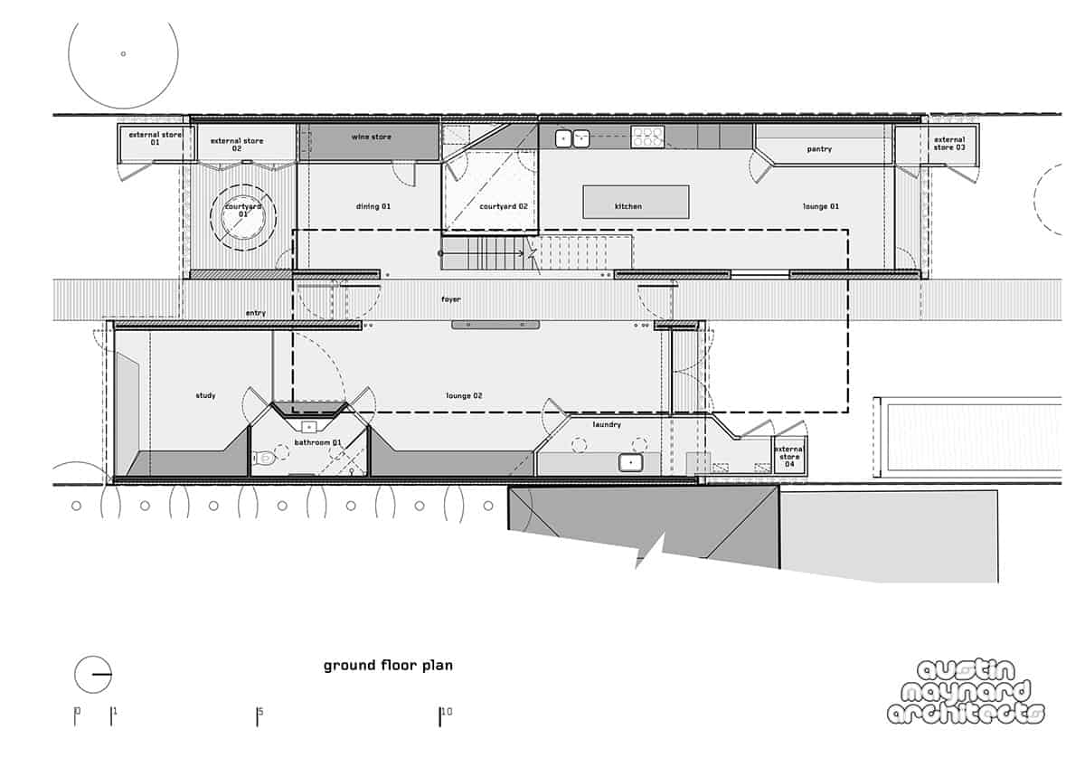 Good The ground floor plan