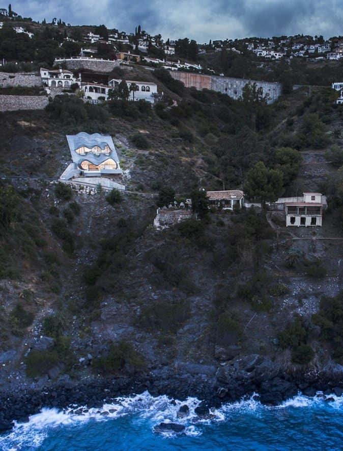 Cliff House In Spain Part Gaudi Part Hobbit All Masterpiece