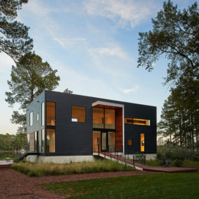 The House on Solitude Creek: Water Views and Light Filled Spaces