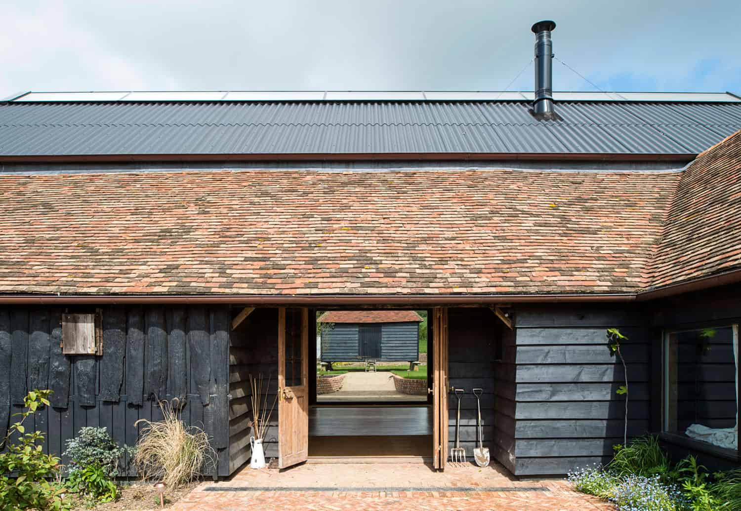 Derelict Barn Conversion Into Modern Home