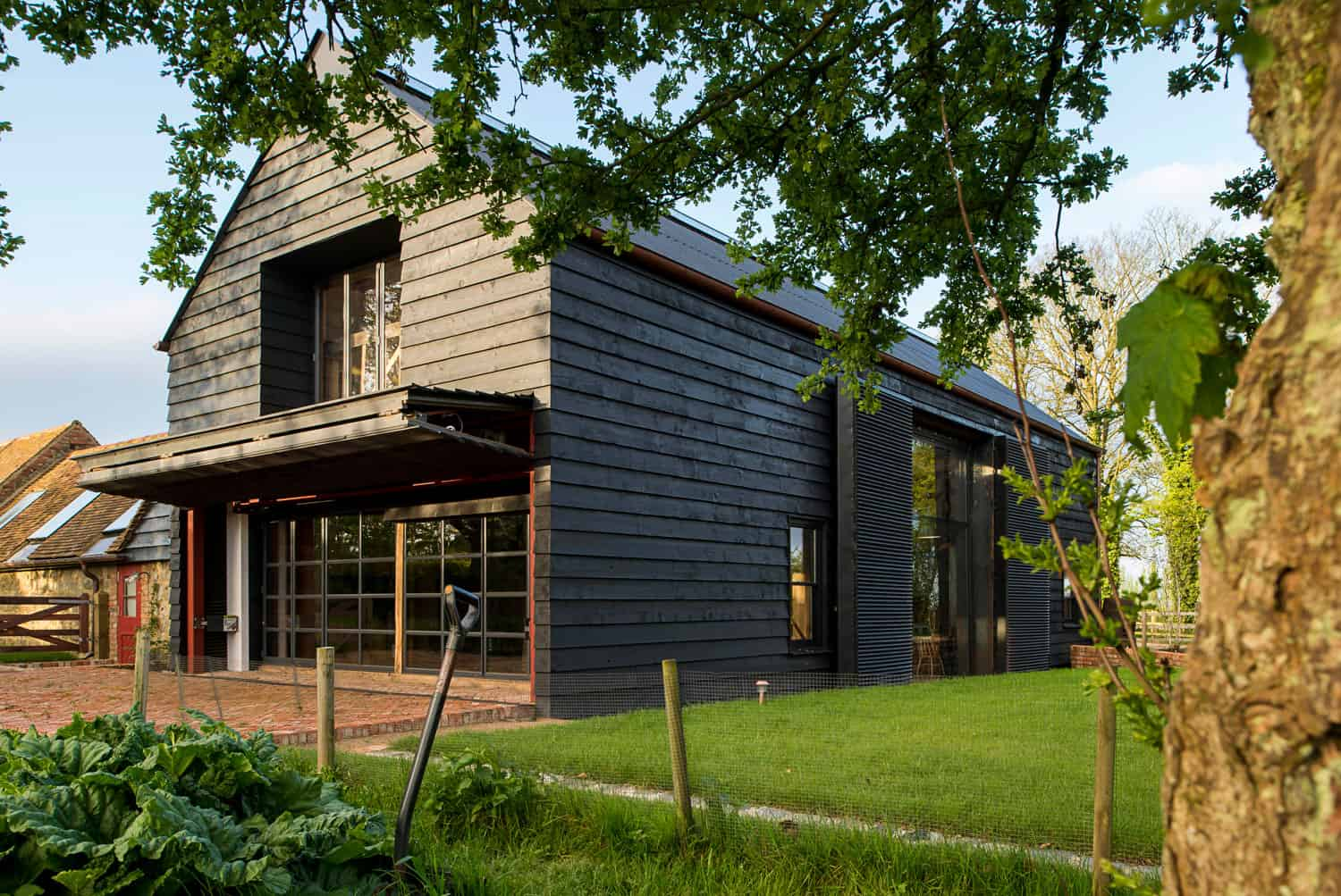 Derelict barn conversion into modern home for Barn style house
