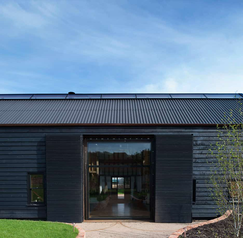 Derelict barn conversion into modern home for Barn architecture plans