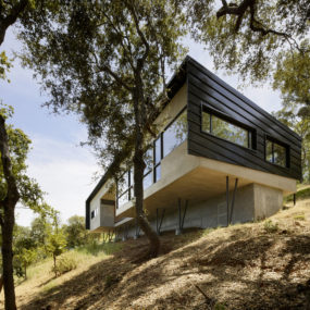 Attractive 12 Gorgeous House For Mobility Impaired Cantilevers Over Steep Slope