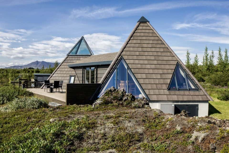 Small Pyramid Cottage In Iceland Is Sustainable And Charming