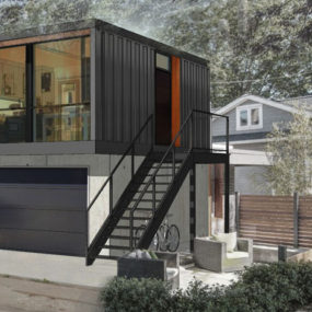 Prefabricated Homes from Shipping Containers in 3 Different Layouts