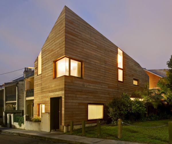 3 level house plans the arc 1 3 Level House Plans by Australian architects