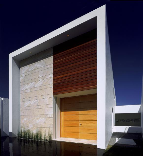 Minimalist Exterior Home Design Ideas: Mexican Contemporary Architecture Boasts Minimalist Apeal