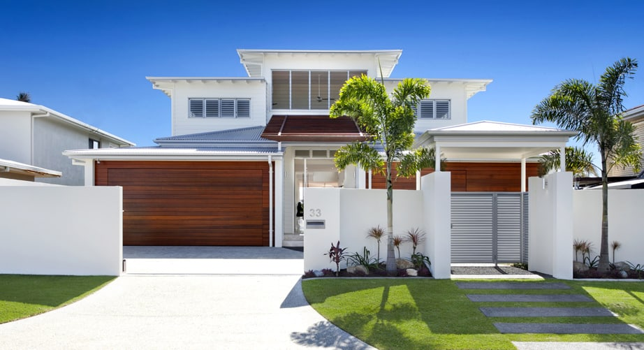 Airy beachfront home with contemporary casual style - What is contemporary style ...