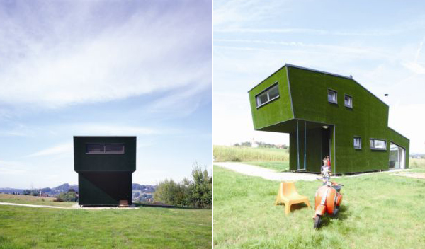 Grass Covered House in Austria ... really?