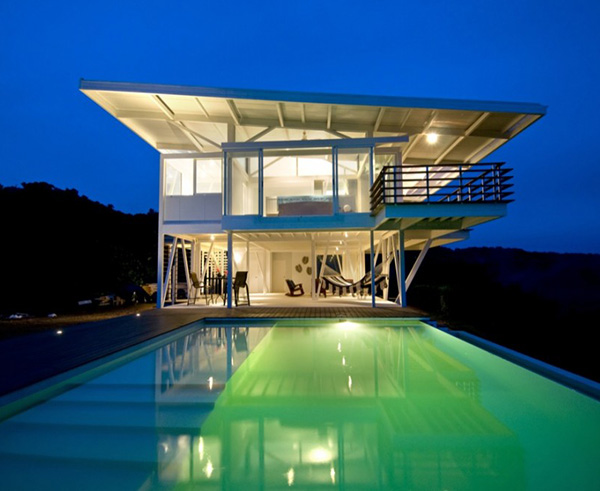 amazing beach houses eco friendly architecture 2 Eco Friendly Beach House in Costa Rica
