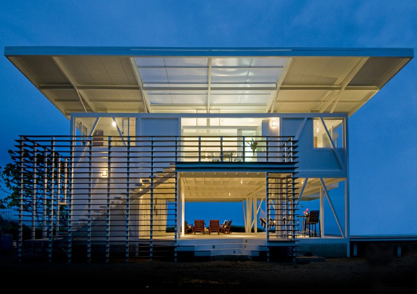 amazing beach houses eco friendly architecture 3