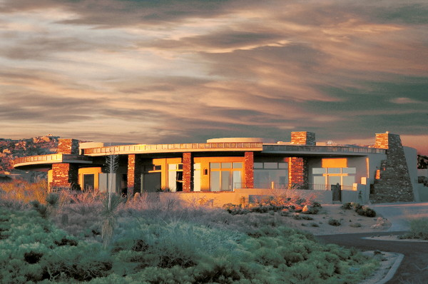 arrowhwead house 1 Arizona Modern Design   Award Winning Arrowhead House in Scottsdale