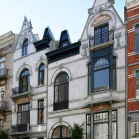 Art Nouveau House Plans in Brussels, Belgium