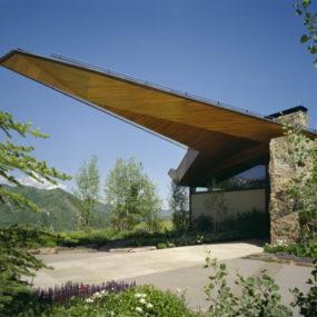Eco-Friendly Mountain Cabin on Wildcat Ridge in Aspen – extreme design