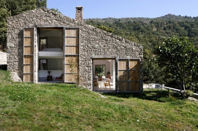 spanish stable turned contemporary stone%20home 1 thumb 630x419 9426 Spanish stable turned contemporary stone home