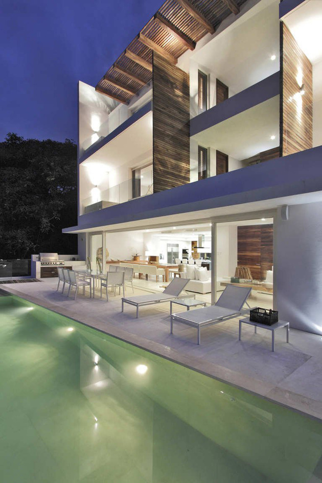 contemporary view house in mexican paradise 2 thumb 630x945 10201 Contemporary view house in Mexican paradise