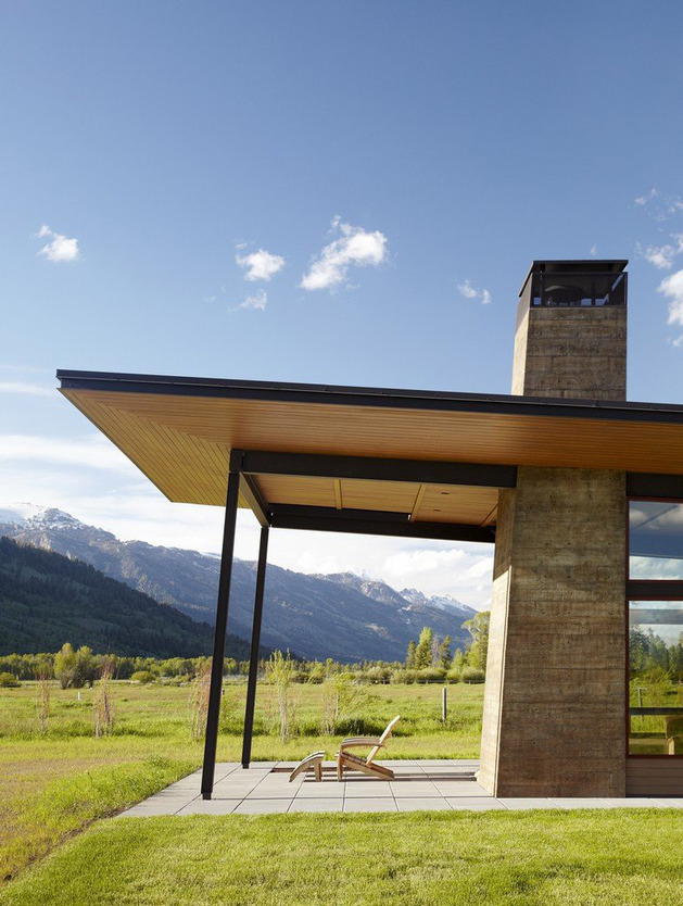 modern home on the range 2 thumb 630x834 10254 One of a Kind Home Design in Traditional Disguise