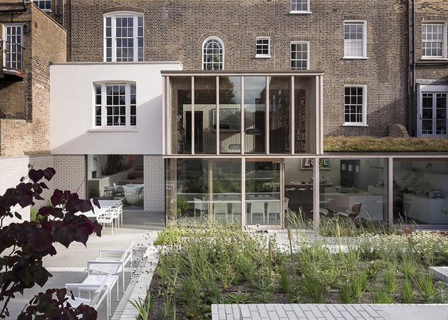 old london home gets fresh glass addition 1 thumb 630x450 10767 Old London home gets a fresh glass addition
