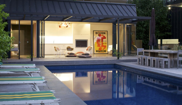 posh pool house with glass walls 2 thumb 630x363 10941 Posh pool house with glass walls