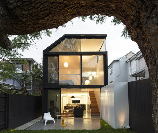 cool glass extension gives traditional home a modern edge 1 thumb 630x528 11941 Cool glass extension gives traditional home a modern edge