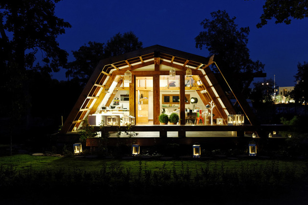 sustainable home emphasizes energy conservation passive systems smart design 1 thumb 630x420 11534 Smart Prefab Design from Romania