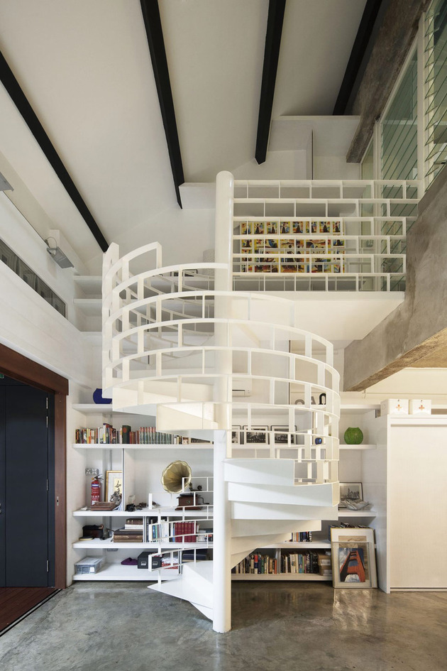 contemporary loft design idea showcases original industrial elements 1 thumb 630x945 12824 Chic Industrial Loft Design Idea Showcases Original Elements