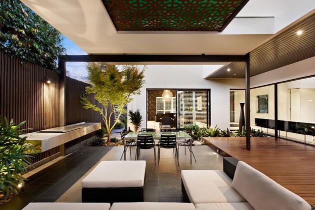 indoor outdoor house design with alfresco terrace living area 2 thumb 630x419 17682 Indoor outdoor house design with alfresco terrace living area