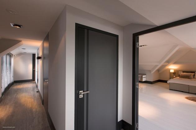 custom details create visual feast minimalist home 2 attic hall thumb 630x420 19609 Custom Details Create a Visual Feast in Minimalist Home