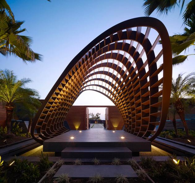 eco friendly kona home hawaiian craftsmanship modern details 1 thumb 630x591 18413 Amazing Eco friendly Home with Infinity Pool