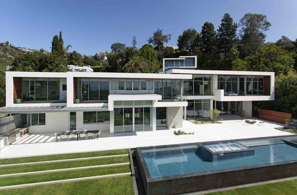 Home Design Los Angeles Set Ultramodern Hillside Los Angeles Jetset Estate