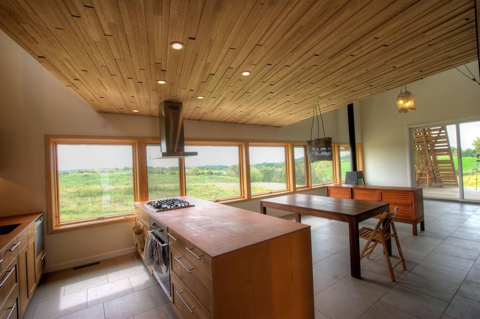 Modern Midwest Barn House