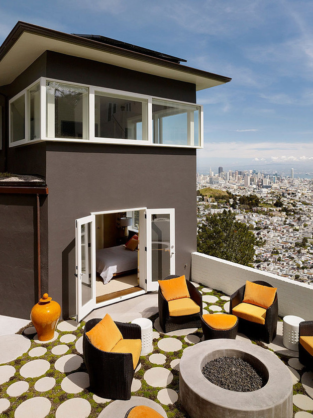 home updated with modern interiors rooftop garden and views that kill 2 thumb 630x840 25900 Home Updated with Modern Interiors, Rooftop Garden and Views that kill