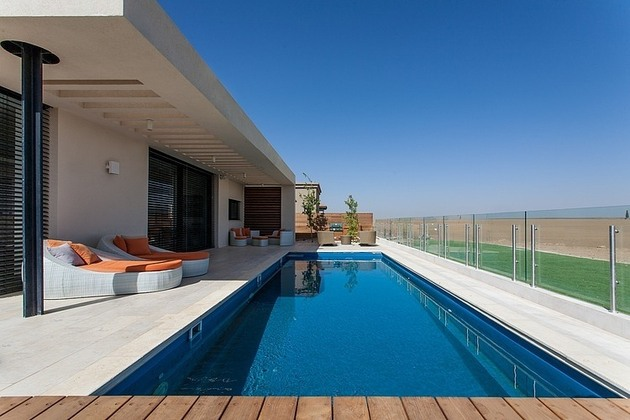 simple pool family home design in israel 2 thumb 630x420 23023 Simple Pool Family Home in Israel