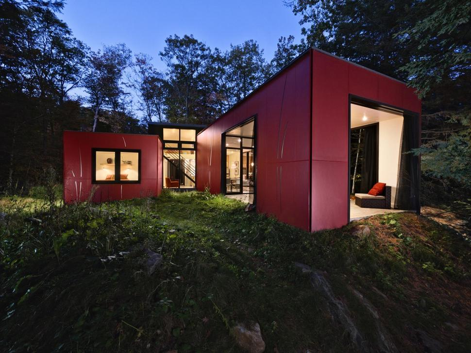 Simple vacation cottage design by kariouk associates for Vacation cottage