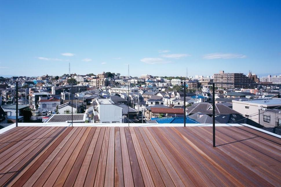 Delightful View In Gallery Three Story Tokyo House With Panoramic City Views  Ideas