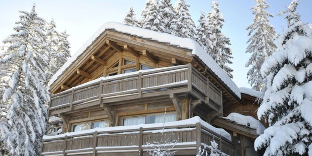 elegant hi tech ski chalet in courchevel 1 thumb 630x314 29167 Elegant Hi tech Ski Chalet in Courchevel