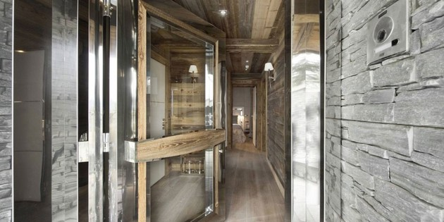 elegant hi tech ski chalet in courchevel 2 thumb 630x314 29169 Elegant Hi tech Ski Chalet in Courchevel