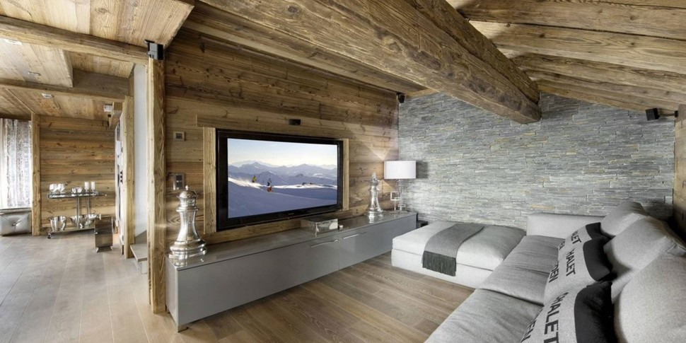 Elegant Hi-tech Ski Chalet in Courchevel