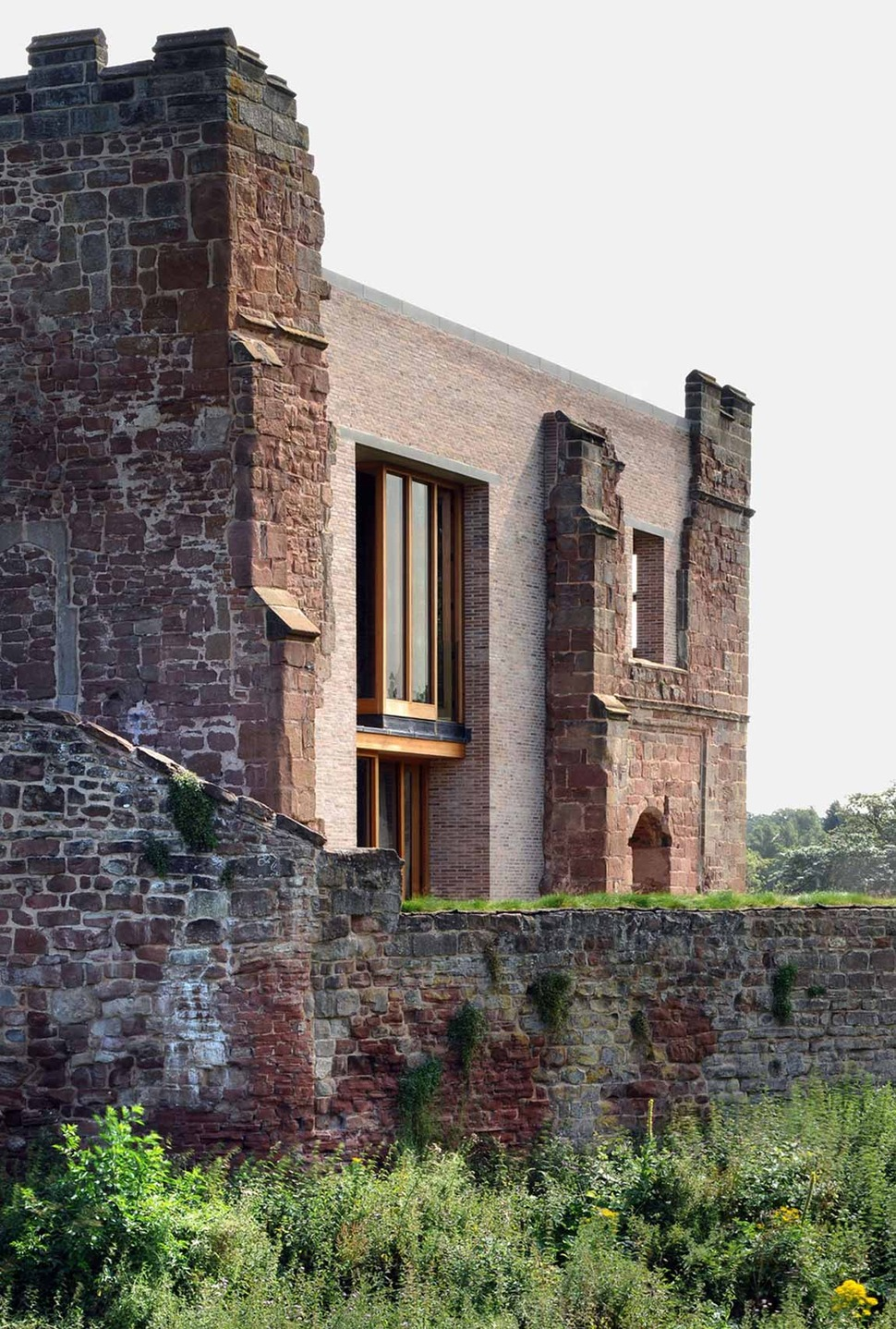View In Gallery English Castle Preserves Historic Architecture  And Incorporates Modern