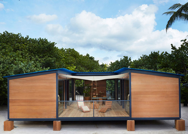 louis vuitton brings modernist beach house to life 2 thumb 630x450 27975 Louis Vuitton brings Modernist Beach House to Life