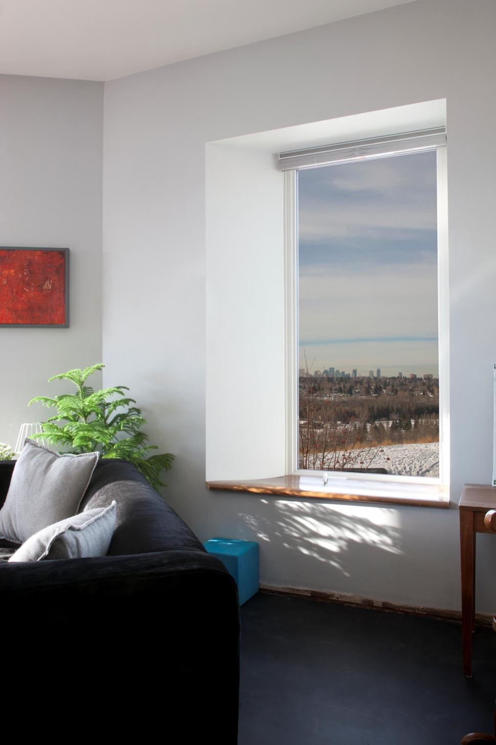 Low energy home working towards net zero rating for Low energy windows
